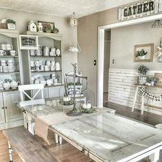 @hellohome83. That door table is amazing. Love pretty much everything about this room.