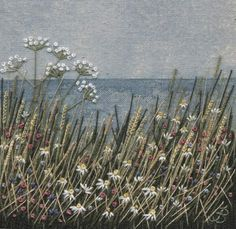 Jo Butcher, Embroidery Artist - Seascape
