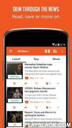 US Basketball News  Android App - playslack.com ,  All the news, scores & videos about the basketball from all top sources - in a single app ! We cover all main basketball sources, all leagues (including the NBA & NCAA) and Youtube channels - to bring you a clean & effective summary to follow the the news you want ! Features include: * A news summary covering stories from all sources ! Clean feed with no duplication. For each story - see all sources that covered it with a simple…