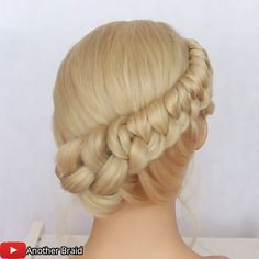 Hairdo For Long Hair, Easy Hairstyles For Long Hair, Up Hairstyles, Braided Hairstyles, Braided Updo, Female Hairstyles, Hairstyle Men, Style Hairstyle, Hair Up Styles