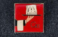 Mcdonald's Vintage Enamel Butler Pin by MichaelPMoriarty on Etsy