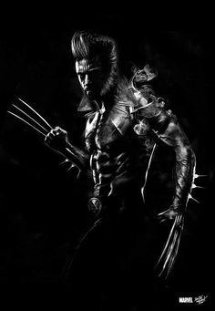 Uma Ilustração digital incrível de Wolverine Imortal por Obery Nicolas. #Marvel #Wolverine #Fanart