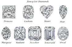 square cut diamond - Google Search