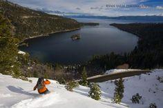 Skiing Lake Tahoe, CA  Photo by Ryan Slam