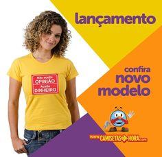 Camiseta Aceito Dinheiro : Não Aceito OPINIÂO. Aceito DINHEIRO.  http://www.camisetasdahora.com/p-4-109-4164/Camiseta---Aceito-Dinheiro | camisetasdahora