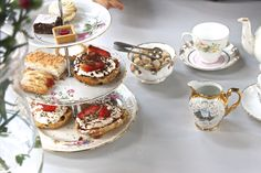 Tea and cakes available for our  #WomenChangeMCR event.   Our films about the #inspirational from #Manchester. Link below: