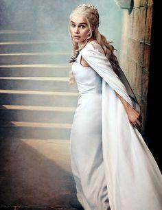 """Emilia Clarke as Daenerys Targaryen for Entertainment Weekly"""