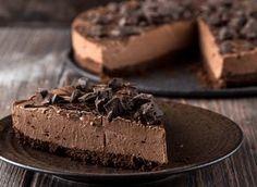 Τσιζκέικ ψυγείου με σοκολάτα! |