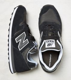 Black New Balance 373 Sneaker