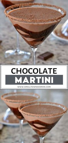 A delectable Valentine's Day food idea made in less than 3 minutes! Chocolate Martini is a 6-ingredient, dessert cocktail recipe perfect for chocolate lovers. Sip on this special homemade treat with your Valentine! Save this and try it!
