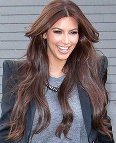 Kim Kardashian Has A New Hair Color。 Wow, do you love it?