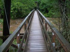 Swinging Bridge in Blue Ridge GA