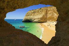 Praia do Carvalho - Lagoa, Algarve, Portugal
