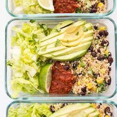 100 Best Meal Prep Recipes #mealprep #healthyrecipes #healthyeating #lunch #recipes Vegetarian Quinoa Recipes, Vegetarian Meal Prep, Healthy Meal Prep, Easy Healthy Recipes, Vegan Recipes, Quinoa Meals, Vegetarian Burrito, Veggie Meals, Veggie Dishes