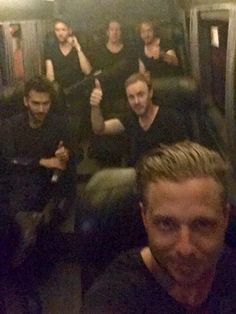 Band selfie from Brazil !!! Sept. 2015 #OneRepublic