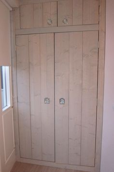 Mooie kastdeuren voor een inbouwkast