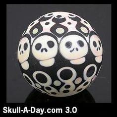 skull moretti marble
