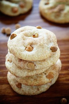 Peanut Butter Butterscotch Snickerdoodle! from @iambaker