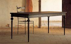 Risultati immagini per tavoli zincato ferro
