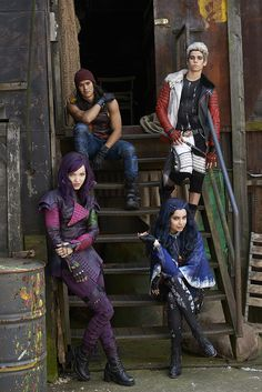 """The First Image From Disney's """"Descendants"""" Shows Off Fabulous Costumes"""