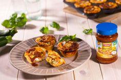 Vegetariánské minilasagne s cuketami a ricottou Mini Lasagne, Ricotta, Mozzarella, Baked Potato, Zucchini, Potatoes, Baking, Breakfast, Ethnic Recipes