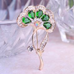 3x5.5cm, $5 . Find More Brooches Information about Popular Accessories Emerald CZ Diamond Flower Brooch 2015 Rhinestone Corsage Wedding Embellishments Hijab Pin Scarf Clip Broches,High Quality scarf paisley,China brooch rhinestone Suppliers, Cheap brooch hijab from Piercing Shop on Aliexpress.com
