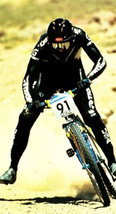 John Tomac DH with Skin Suits