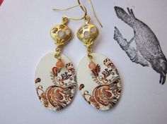 Hey, I found this really awesome Etsy listing at https://www.etsy.com/listing/185791746/morrocan-swirl-earrings