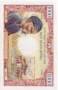 South Vietnam banknote South Vietnam, Banknote, Gold Coins, Finance, Notes, Gallery, Paper, World, Collection