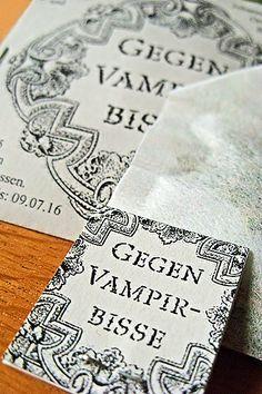 Schutz gegen Vampirbisse (Zeitgenossen-Tee) für liebe Freunde und Leser