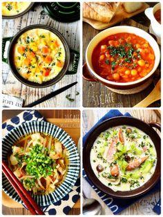 ♡具沢山de栄養満点♡ほっこりあったかスープレシピ5選♡【#時短#節約#シチュー#チャウダー】 : Mizuki
