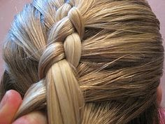 Easy how to for the dutch or reverse braid!