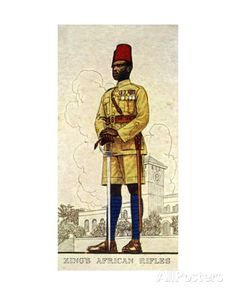 Regimental Sergeant-Major of the King's African Rifles, 1938 Giclee Print at AllPosters.com largest 36x54