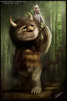 Where the wild things are digital paintings
