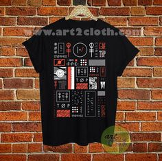 Twenty One Pilots Album Cover T Shirt Size XS,S,M,L,XL,2XL,3XL //Price: $12 //     #FashionMens