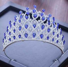 Cute Jewelry, Hair Jewelry, Wedding Jewelry, Princess Jewelry, Silver Tiara, Bride Hair Accessories, Crystal Crown, Bridal Tiara, Tiaras And Crowns