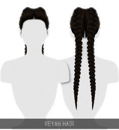 REYAH HAIR at Simpliciaty • Sims 4 Updates