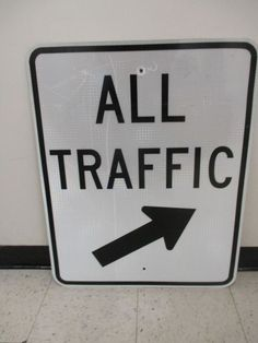 d7dc53b4469 ... Road Highway Sign Man Cave. Finding Thingz · Signs · Retired Authentic  24