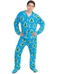 Adult & Teen Footed Pajamas for Men & Women, Onesie Pajamas for ...