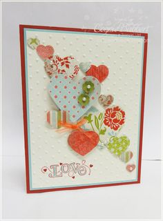 by Connie Babbert, Inkspired Treasures.  Stampin' Up! SU
