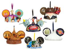 Limited Time Magic Spotlight on New Disney Ear Hat Ornaments at Disney Parks (I like the It's a Small World one.)