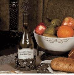 GG Collection Provencial Wine Bottle Holder & Stopper 💕SHOP💕 www.crownjewel.design
