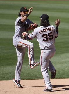 Angel Pagan Photos: San Francisco Giants v San Diego Padres