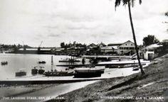 The Landing Stage Dar es Salaam 1964