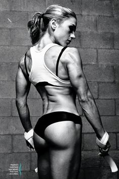Q: What's the biggest mistake women make when training their glutes?    A: Most women think they have to do 20–30 reps of each exercise to see results.