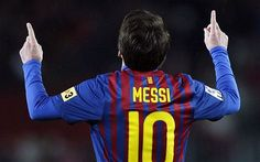 Hands up who thinks Lionel Messi is the world's best footballer? Leo, that's cheating. You can't vote for yourself, twice!