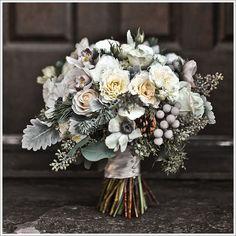 winter-wedding-bouquet STUNNING bridal bouquet