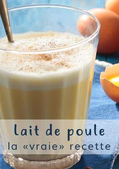 Discover the traditional # eggnog recipe - Cocktail Design Eggnog Rezept, Clean Recipes, Cooking Recipes, Teriyaki Chicken Bowl, Panna Cotta, Clean Eating Challenge, Food Crush, Xmas Food, Eat Smarter