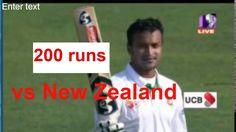 Shakib Al Hasan 200 Runs vs New Zealand | Celebrating 200 Runs | Full Hi...