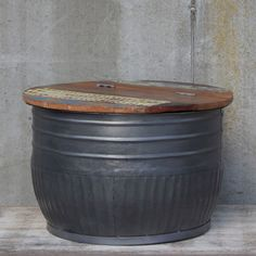 By-Boo Table storage metal - van Donzel